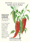 Pepper Chile Anaheim NuMex Joe E. Parker Seeds