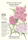 Sweet William Double Blend HEIRLOOM Seeds