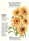 Sunflower Peach Passion Pollenless Seeds